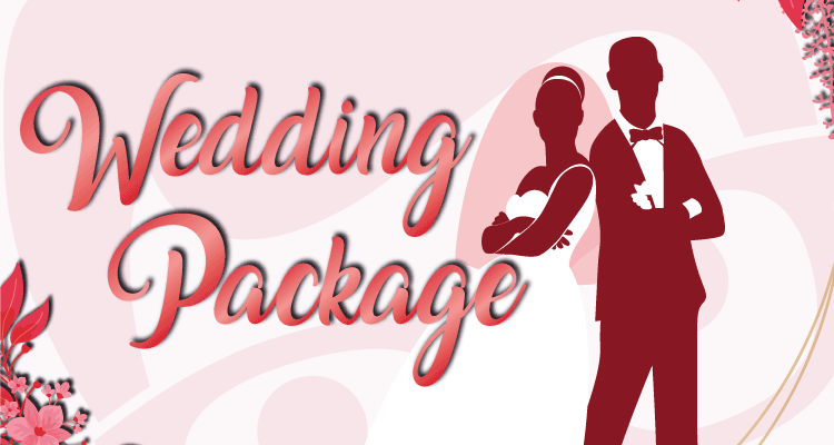 Wedding Package Promotion